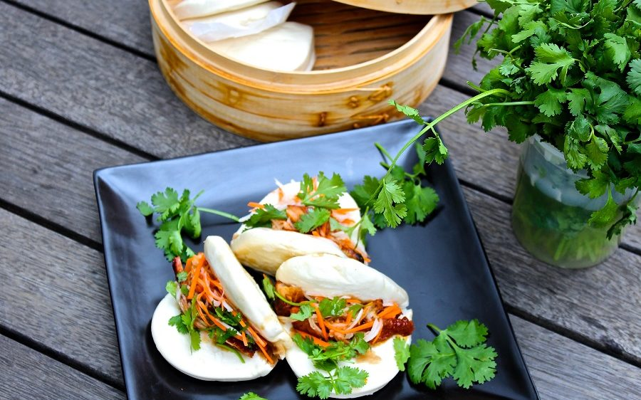 Korean Pork Rib Bao